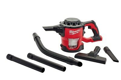 *NEW* Milwaukee M18 18-Volt Lithium-Ion Compact Portable Site Vacuum (Tool-Only)
