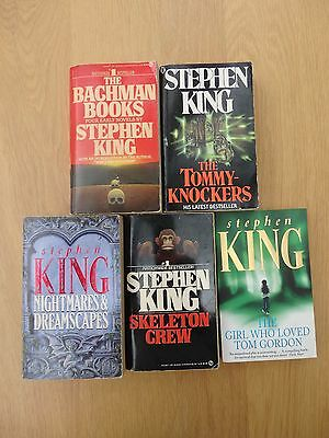 Stephen King paperback book collection