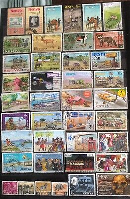 Stamps Kenya With Two Blocks Of 4 On Second Picture.
