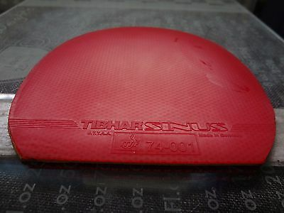 small used table tennis rubber for testing, size of less than W145mm x L150mm