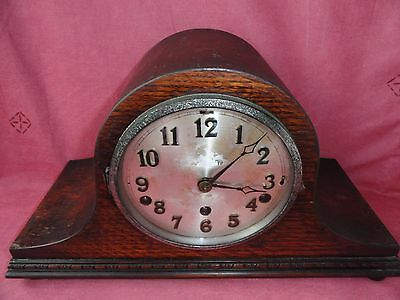 Vintage Antique LARGE Table Clock 42 x 23 cm.