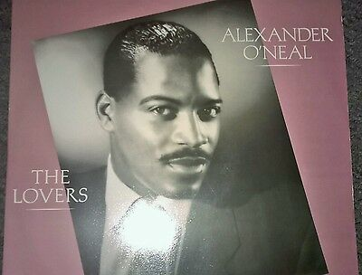 """Alexander O'Neal - The Lovers Special 12"""" Mixes - Tabu Records 12"""" Single"""