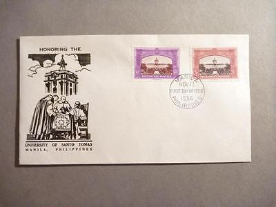 Philippines Honoring the University of Santo Tomas FDC 1956