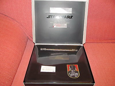 Light Saber Darth Maul Star Wars Ep. I Master Replicas.45 Collector Society 2005