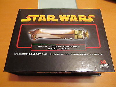Light Saber Darth Sidious Star Wars Ep. Iii Master Replicas .45