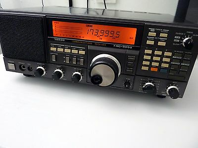 Yaesu Frg-8800 Hf Communications Receiver With Frv-8800 Vhf Converter
