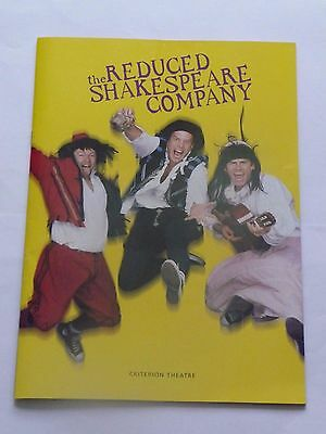 The Reduced Shakespeare Company programme - 1996