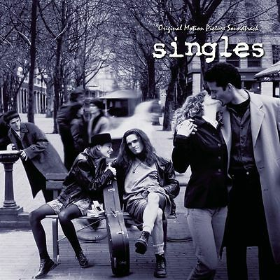 """Singles"" Movie O.S.T. Double Vinyl LP & CD (Sealed) Soundgarden, Chris Cornell"