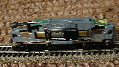 N Scale Life Like GP-18 Diesel Engine Locomotive Chassie Only Lot