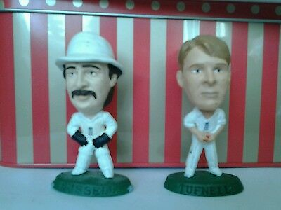 Phil Tufnell and Jack Russell England cricket Corinthian figures
