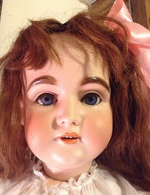 Antique German Doll 33 Inches Tall Kestner Mold 164