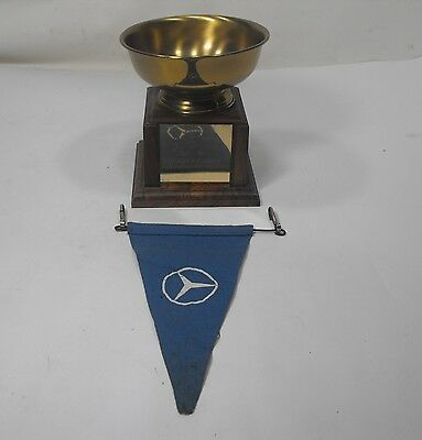 1967 11th ann Mercedes Benz Club of America Concours d'Elegance 2nd place trophy