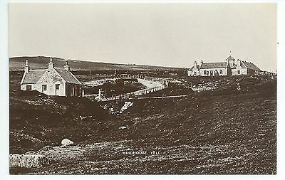 Real photo postcard of Windhouse Yell Shetland,Scotland in very good condition
