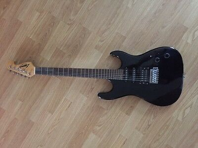 Lyon by Washburn Electric Guitar in Black.  Excellent condition