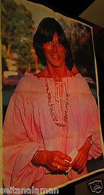 UNIQUE VINTAGE GREEK GIANT POSTER CHARLES ANGELS TV SHOW KATE JACKSON FROM 80s