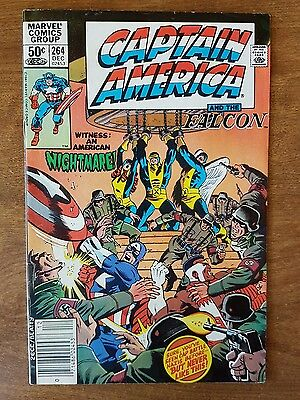 Captain America #264 Marvel December 1981 Very Fine Combine Shipping Rates