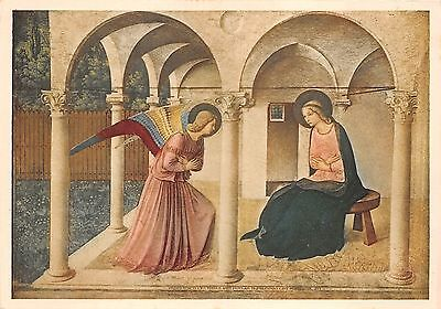 BR21062 L Annunciazione Beato Anglico painting postcard religious italy