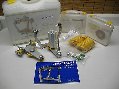 New Sam 3 Magnetic Semi Adjustable Dental Articulator / Accessories Great Lakes
