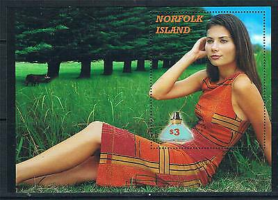 Norfolk Is 2001 Perfume from Norfolk Is MS SG 766 MNH
