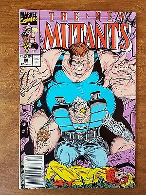 The New Mutants #88 Marvel April 1990 Near Mint Combine Shipping Rates