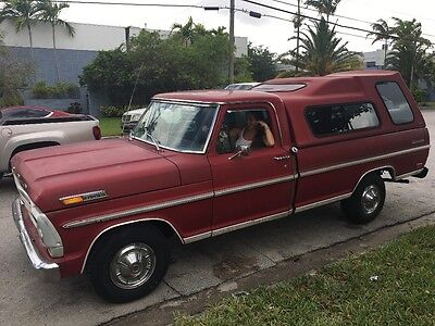 1969 Ford F-100  Ford f100 1969