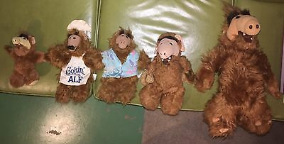 Alf Plush Doll Puppets Lot