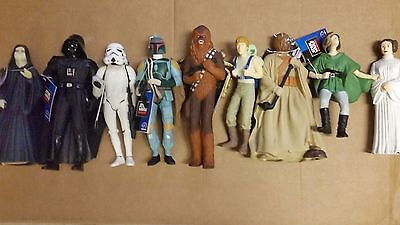 9 Star Wars Classic Applause Figures authorized by Lucasfilm 1995