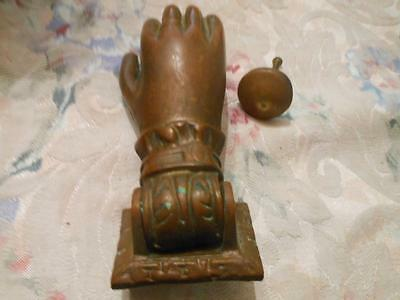 Vintage Cast Ladies Hand Door Knocker