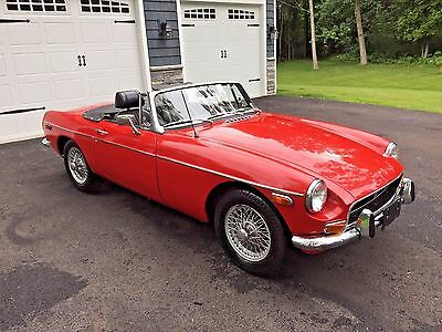 1973 Mg Mgb  1973 Mgb W/overdrive Gorgeous One Of A Kind Rare Collectible