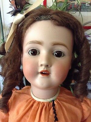 Antique German Doll 29 Inches Tall