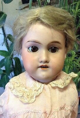 Antique German Doll 16 1/2 Inches Tall