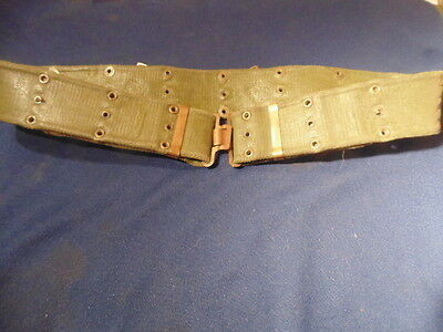 Ww2 Canadian Army 37 Pattern Web Belt.