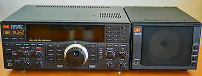 JRC NRD-545 DSP HF Receiver with JRC CHE-199 VHF-UHF board & JRC NVA-319 speaker