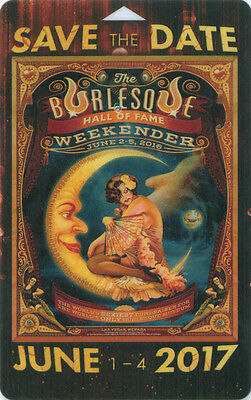 Burlesque Hall of Fame Weekend 2016, Room Key, The Orleans Casino, Las Vegas, NV