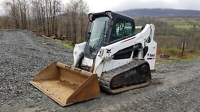 2011 Bobcat T770 Track Skid Steer High Flow Forestry Package Steel Tracks!