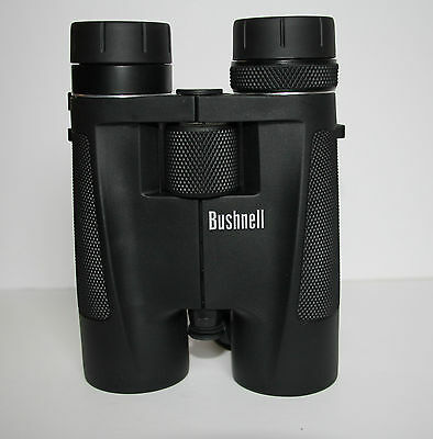 BUSHNELL 8-16X40MM BLACK, ROOF PRISM, ZOOM BINOCULARS w/CASE, STRAP, BOX 1481640