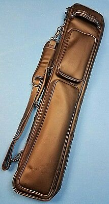 Zeus deluxe 4x8 butterfly style cue case