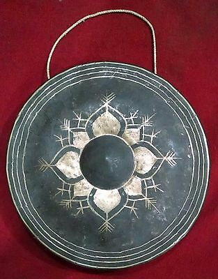 Traditional Burmese Gong Hand made 1210 gms