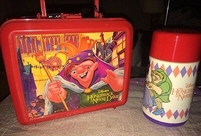 Hunchback Of Notre Dame Lunchbox New!