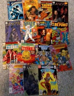"""A Huge Lot of 30 """"Mixed Bag"""" Old Comic Books(Bromz, Copper & a couple of Modern)"""