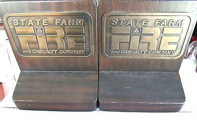 BRUCE FOX Advertising State Farm Insurance Fire and Casualty Co Book Ends