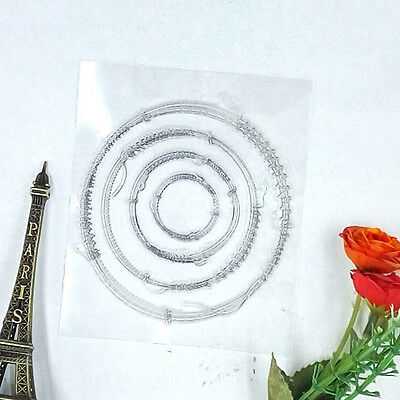 Hot! Solid Crystal Clear Stamp Silicone Seal Scrapbooking DIY Card Making CA