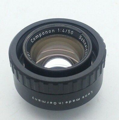 Schneider Kreuznach Componon f4 50mm Lens Made in Germany