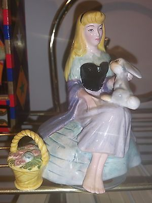 Schmid Disney Princess Music Box Statue Sleeping Beauty Briar Rose