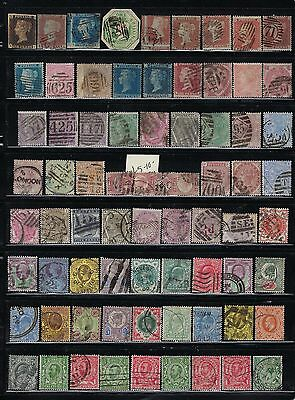 Great Britain Quality Collection 260+ Stamps Scott#1 To Early Qeii- Some Offices