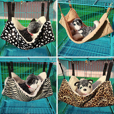 Pet Rat Rabbit Chinchilla Cat Cage Hammock Pet Dog Puppy Bed Cover Bag Blankets.
