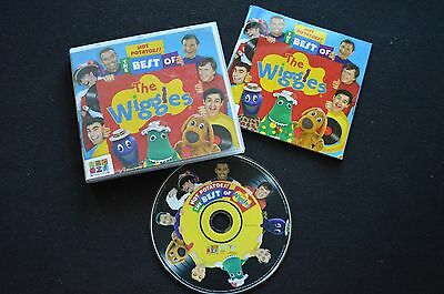 The Best Of The Wiggles Rare Australian Cd! Abc Tv