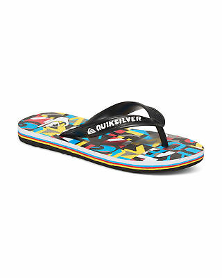 NEW QUIKSILVER™  Boys 2-7 Molokai Random SP KD Thongs Boys Teens