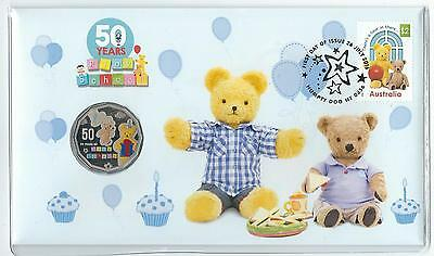 2016 UNC 50c 50 YEARS OF PLAY SCHOOL PNC