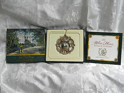 2005 The White House Historical society Ornament 20th President James A Garfield